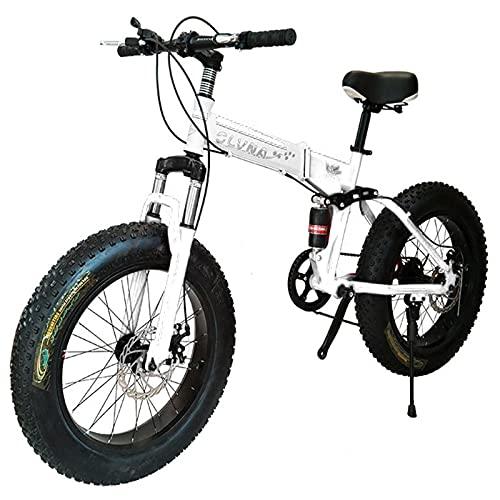 Tbagem-Yjr 20-26 Pulgadas Rueda 7-30 Velocidad Engranaje Bicicleta Adulto Gordo neumático Nieve montaña Sendero Bicicleta, suspensión Completa Dual Disco Freno de Freno Trasero del Freno