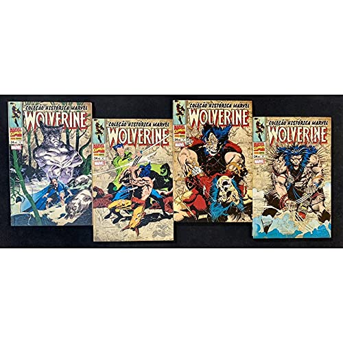 Coleção Histórica Marvel Wolverine Box 05 a 08 (Panini)