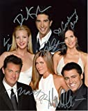 FRIENDS tv show entire cast signed reprint photo #2 Jennifer Aniston RP