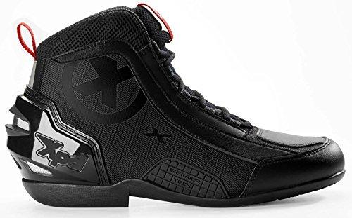 XPD X-Zero Motorradstiefel 43 Schwarz