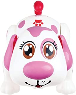 Electronic Pet Dog Helen - Interactive Puppy Toy Robot Responds to Touch, Walking, Chasing and Fun Activities. Batteries Included