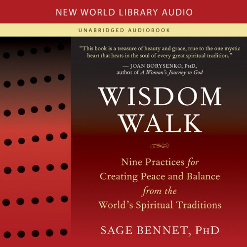 Wisdom Walk audiobook cover art