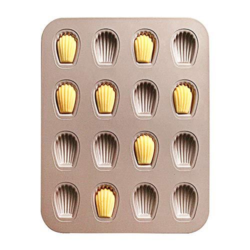 QJJML Moule De Cuisson pour Cuisine, Moule pour Cuisson De Coquillages, Fabrication De GâTeaux en Forme De Dessins AniméS, Accessoires De Four pour Plaques De Cuisson Domestiques (2 PièCes)