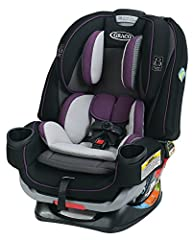"4-in-1 seat grows with your child, so you can enjoy 10 years of use, from 4 - 120 lb Extend2Fit 4-position extension panel provides 5"" additional leg room Up to 50 lb rear-facing allowing your child to safely ride rear-facing longer plush inserts kee..."