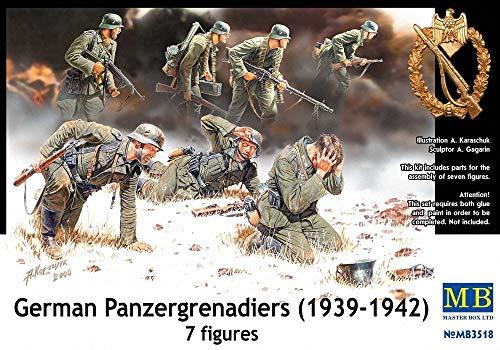 Masterbox MB3518 - 1/35 Deutsche Panzergranadier, Figurensatz