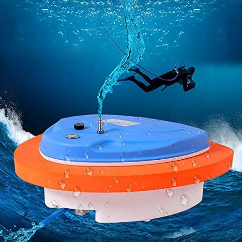 HIMAPETTR Respiración Buceo Portátil, compresor Buceo Mini, Profundidad de Buceo de hasta 10m, 70000mAh / 5h, para...