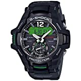 Casio GRB100-1A3 Gravitymaster Men's Watch Black 53.8mm Resin