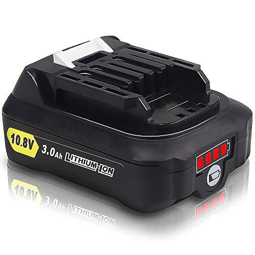 Waitley マキタ BL1015 10.8V 互換 バッテリー 3.0Ah 3000mAh BL1015 BL1050 BL1060 対応 リチウムイオンバッテリMakita互換電池 電動工具電池 残量指示付き