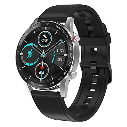 WEINANA High-Definition-Bildschirm Herren Smart Watch IP68 Herzfrequenz-Gesundheitsüberwachung Sportmodus 1.3 Inc Sportuhr Bluetooth Call Smart Watch(Color:D.)