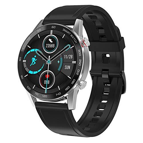MMFFYZ Reloj Inteligente HD Monitorización De La Salud del Ritmo Cardíaco Modo Deportivo Reloj Inteligente Llamada Bluetooth Rastreador De Ejercicios Reloj Inteligente Impermeable(Color:C)