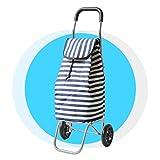 XF Canvas Tasche Aluminium Leichtgewicht Klappwagen Gepäckwagen Einkaufskorb Kleinwagen