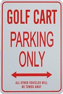 Best golf cart parking sign Reviews