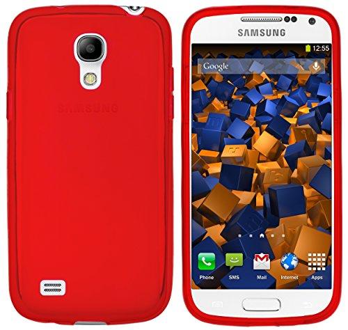 mumbi Hülle kompatibel mit Samsung Galaxy S4 mini Handy Case Handyhülle, rot