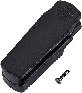CandyTT Abrazadera de Clip de cinturón para Baofeng Impermeable Radio bidireccional Walkie Talkie para Baofeng BF-A58 UV-9...
