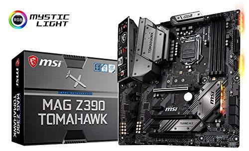 MSI MAG Z390 Tomahawk, LGA 1151 Mainboard (DDR4, 2X Turbo M.2, 8x USB 3.1, 4X Gen2 und 4X Gen1)