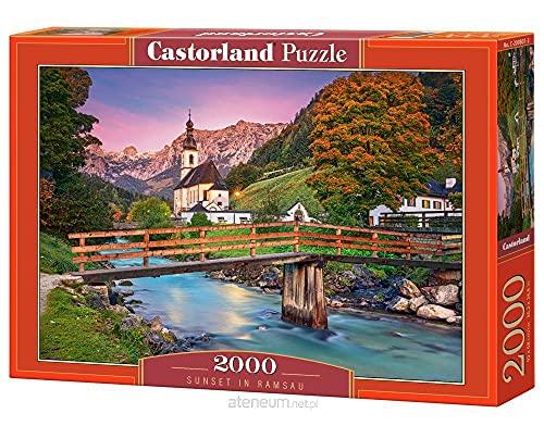 Castorland 2000 el. ZachÄld sÄšoÄšca w Ramsau C-200801-2 [Puzzle]