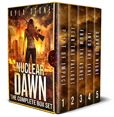 Nuclear Dawn: The Post-Apocalyptic Box Set: The Complete Apocalyptic Survival Thriller Series by [Kyla Stone]