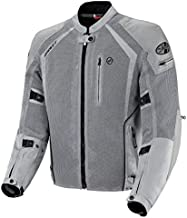 Joe Rocket 1516-4503 Phoenix Ion Men's Mesh Motorcycle Jacket (Silver, Medium)
