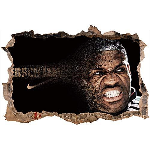 Nensuo 3D York Knicks NBA Basketball Home Decor Art Wall Vinyl PVC Sticker 60 * 90CM-A_40*60CM