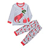 POLP niño Ropa de Dormir Navidad Ropa niñas Unisex Pijama Bebe Niños niña...