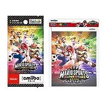 『マリオスポーツ スーパースターズ』amiiboカード (4パック+アルバム (90枚収納) セット)