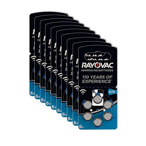 Rayovac Lithium Knopfzellen 675 60er Knopfzellen in Original 675 Blisterverpackung