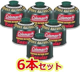Coleman(コールマン) 純正LPガス燃料[Tタイプ]230g 5103A230T 6本セット [HTRC 2.1]