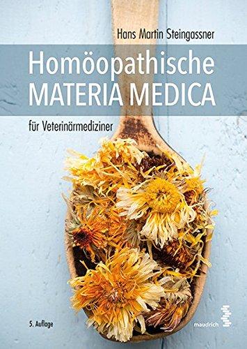 Homöopathische Materia Medica für Veterinärmediziner