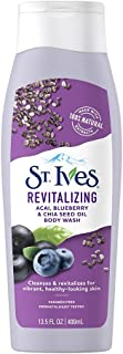 St.Ives Revitalizing ACAI, Blueberry & Chia Seed Oil Body Wash 400ml