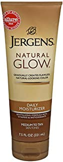 Jergens Nat Glw Med/Tan Size 7.5z Jergens Natural Glow Daily Moisturizer For Medium/Tan Skin (2 Pack)