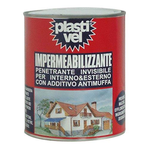Plastivel Impermeabilizzante 1000ml plastificante Protettivo Permanente Multiuso