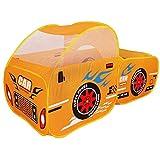 HaiQianXin Faltbare Kinder im Freien niedlich Auto Modell Spielzelt Kinder Bällebad Spielhaus (Ball...