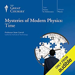 Mysteries of Modern Physics: Time cover art