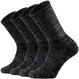 Ortis Men's Merino Wool Moisture Wicking Outdoor Hiking Cushion Crew...