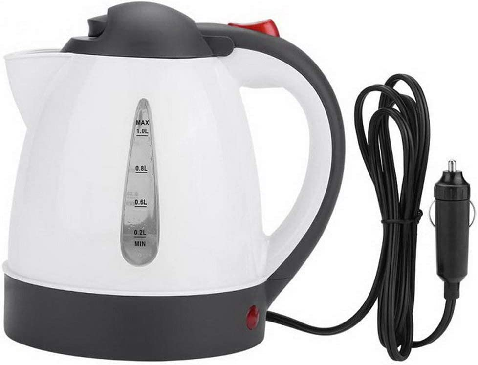 1000ml 12V-24V Electric Kettle C Teakettle New Orleans Mall Anti-Scald Insulation Albuquerque Mall