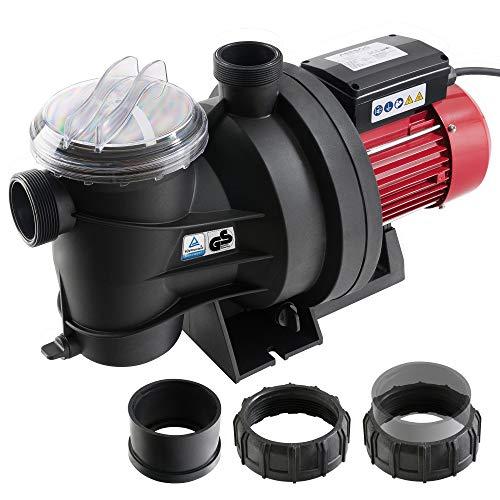AREBOS Bomba Depuradora para Piscina | Bomba de Agua | 800W |...
