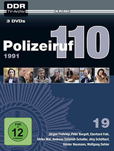 Polizeiruf 110 - Box 19: 1991 (DDR TV-Archiv) (3 DVDs)