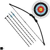Junxing Archery - Panda-R - Set Arc et Flèche - Noir