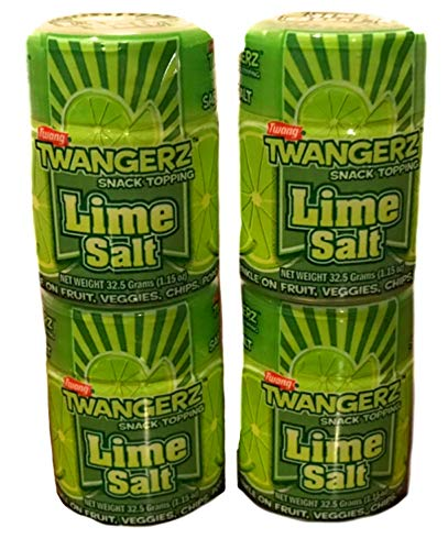 Twangerz Lime Salt | 4 Pack of 1.15 oz Cans