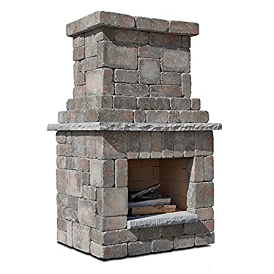 Necessories Colonial Outdoor Fireplace in Desert