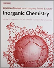Solutions Manual To Accompany Shriver And Atkins' Inorganic Chemistry by Hagerman R. Chris (2010-05-06) Paperback