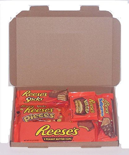 Reese's American Candy Gift Box - Wedding Birthday Party Retro Sweets Reeses R5