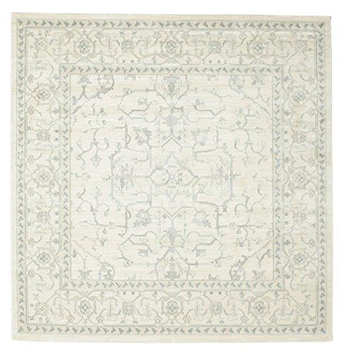 RugVista Teppich Manhattan, Kurzflor, 250 x 250 cm, Quadratisch, Orientalisch, Ziegler, Öko-Tex Standard 100, Polypropylen, Flur, Schlafzimmer, Wohnzimmer, Mehrfarbig