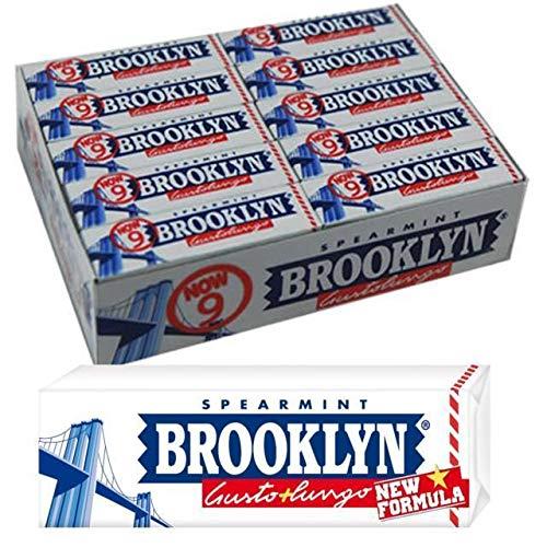 Chewingum Brooklyn Gusto Spearmint 20 Confezioni