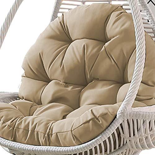Cuscino per sedia a dondolo sospeso, antiscivolo, imbottitura impermeabile per sedia da giardino, 90 x 120 cm