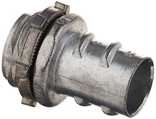 Halex, 1/2 in. Flexible Metal Conduit (FMC) Screw-In Connector , 20440, 5 per pack