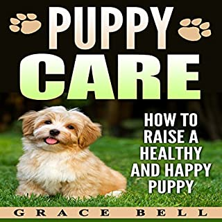 Puppy Care audiobook cover art