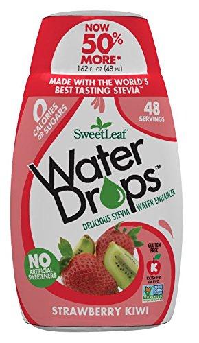 Sweetleaf Water Drops Strawberry & Kiwi 48ml