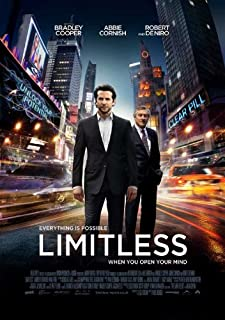 Limitless (UK) 27x40 Movie Poster (2011)