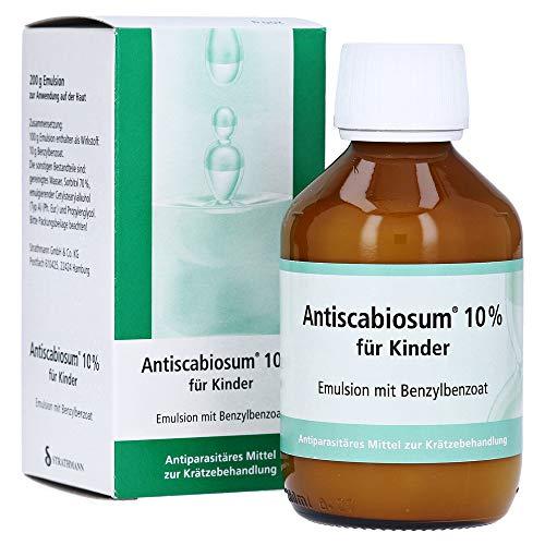 Antiscabiosum 10% für Kinder, 200 g Emulsion